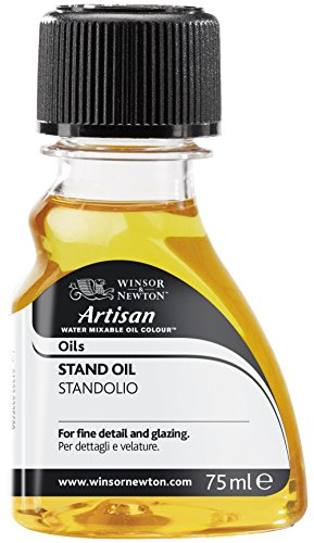 (Winsor & Newton 3221728 Artisan H20 Mixable Med 75ml Stand Oil, Multicolor)