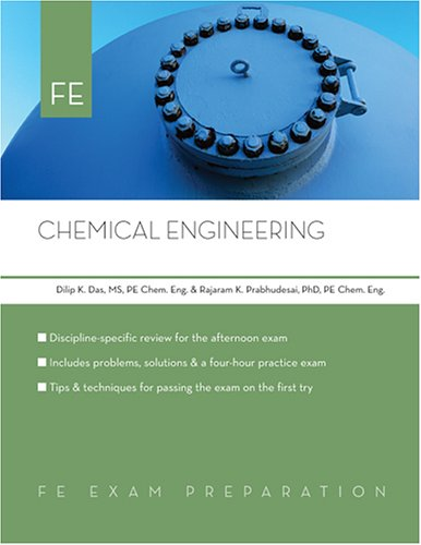 Chemical Engineering: Fe Exam Preparation