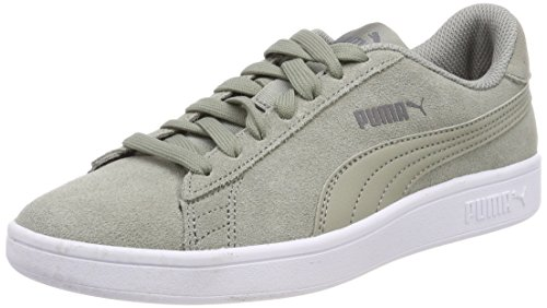 Puma Unisex-Erwachsene Smash V2 Sneaker, Grau (Rock Ridge)