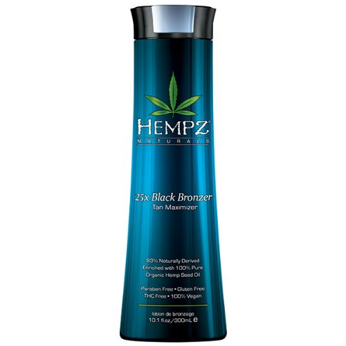 (Hempz 25x Black Bronzer Tan Maximizer, 10.1 Fluid Ounce)