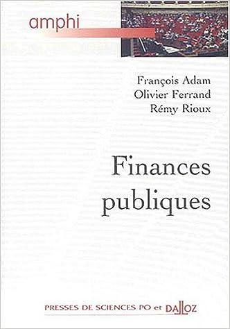 En ligne téléchargement gratuit Finances publiques pdf