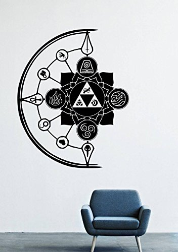 Avatar The Last Airbender Wall Decals Decor Vinyl Stickers LM1318