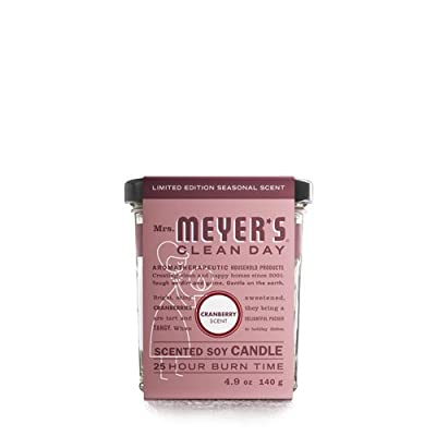Mrs. Meyer's Soy Candle - 4.9 oz - Case of 6