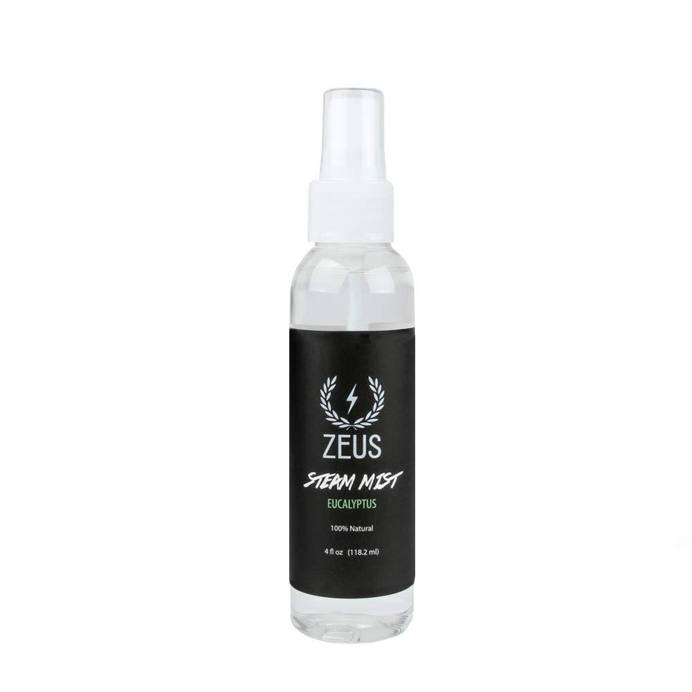 ZEUS 100% Natural Eucalyptus Steam and Towel Mist, 4 Fluid Ounce Newport Apothecary Inc.