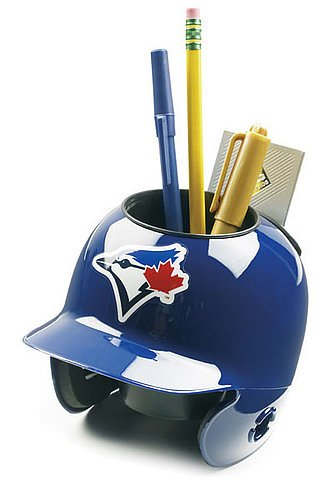 - Schutt MLB Toronto Blue Jays Authentic Mini Batting Helmet Desk Caddy