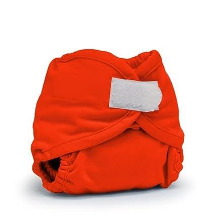 Rumparooz pañal de tela cubierta, Carmesí Aplix, del Recién Nacido Color: Carmesí Aplix