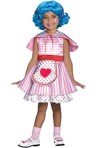 Big Girls' Lalaloopsy Deluxe Rosy Bumps N' Bruises Costume - TD