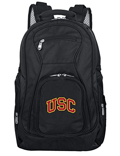 Denco NCAA USC Trojans Voyager Laptop Backpack, 19-inches, Black