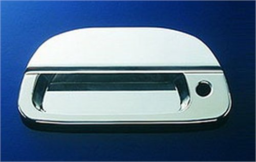 All Sales 503L Polished Billet Aluminum Tailgate Handle Assembly