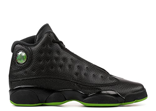 Pictures of Jordan Air XIII (13) Retro (Kids) Black, Altitude Green 4