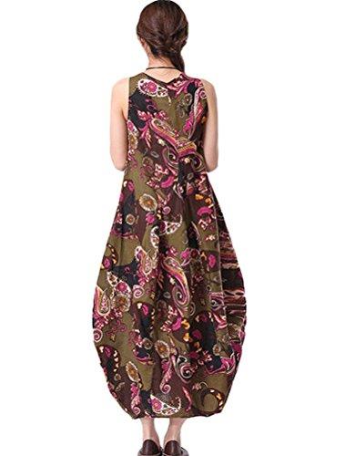 MatchLife - Vestido - vestido - para mujer Purple Red