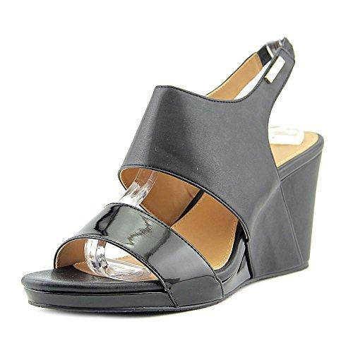 Calvin Klein Bertha Donna Pelle sintetica Sandalo con la Zeppa