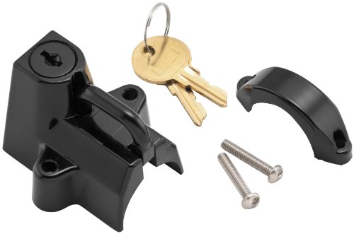 0.5' Luggage Lock - Bikers Choice Helmet Lock - Black 74937BSE