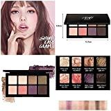 Pony X Memebox Shine Easy Glam Eyeshadow Eight Color#2(upgrade Ver) For Sale