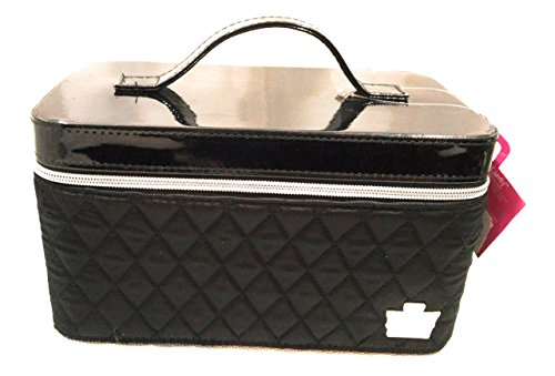 caboodles-i-candy-makeup-cosmetic-train-case-black-quilted