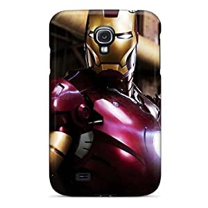 Durable Iron Man Movie Still Back Case/cover For Galaxy S4