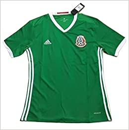 67eb77013 Amazon.com: Mexico National Team 2016 Men's Home Soccer Jersey ...