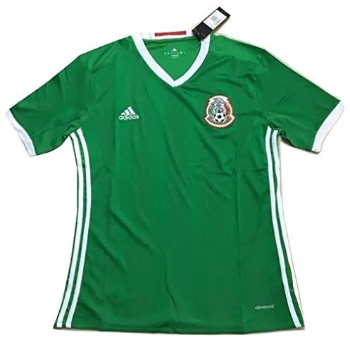 Mexico National Team 2016 Men's Home Soccer Jersey (Small)