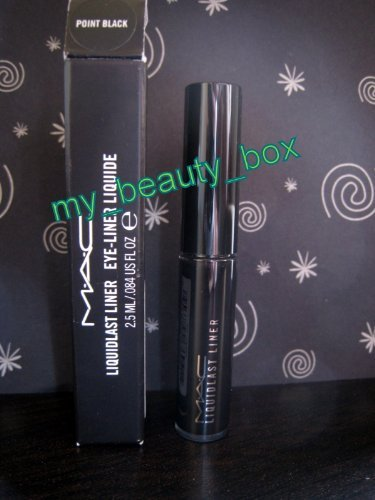 MAC Liquidlast Liner Point Black
