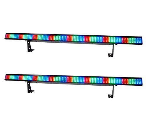 (2) NEW! Chauvet COLORSTRIP 4 Ch DMX LED RGB DJ Stage Novely Light Color Strips by Chauvet DJ