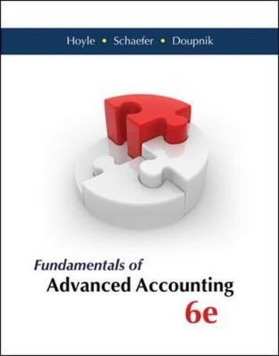 advanced accounting - 6