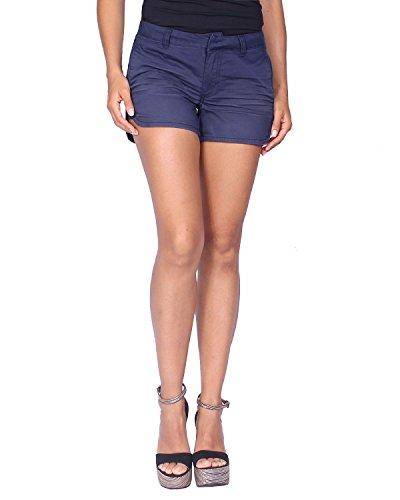 Kaporal - Women's Shorts Rubye - Blue (Navy), US Size: M/UK Size: L by Kaporal