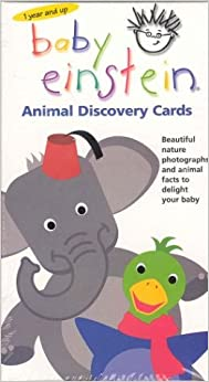 baby einstein animal discovery cards beautiful nature