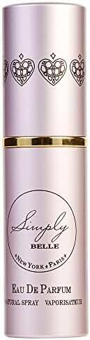 SIMPLY BELLE by Exceptional Parfums EAU DE PARFUM PURSE SPRAY .27 OZ MINI for WOMEN ---(Package Of 2)