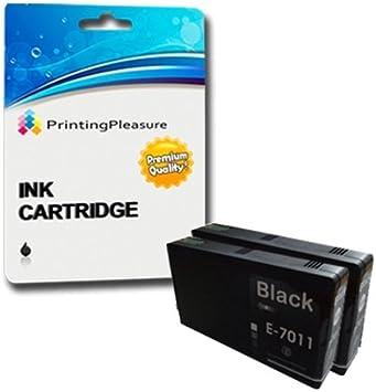 2 XXL Cartuchos de Tinta compatibles para Epson Workforce Pro WP-4015DN WP-4025DW WP-4095DN WP-4515DN WP-4525DNF WP-4535DWF WP-4545DTWF WP-4595DNF: Amazon.es: Electrónica