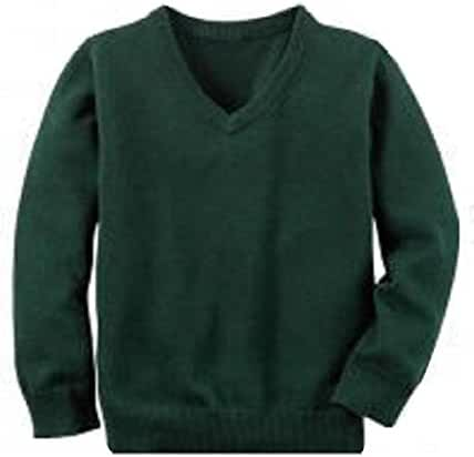 Baby Boys V-Neck Sweater - (Size - 6 Months)