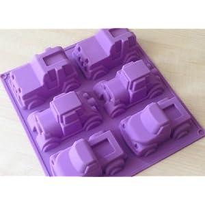 Truck Cake Pan Molds