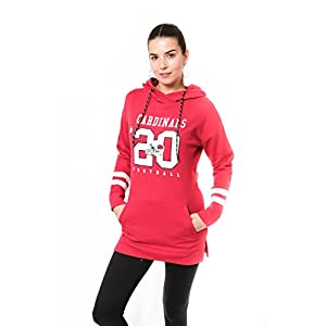 Ultra-Game-NFL-Womens-Tunic-Hoodie-Pullover-Sweatshirt-Terry