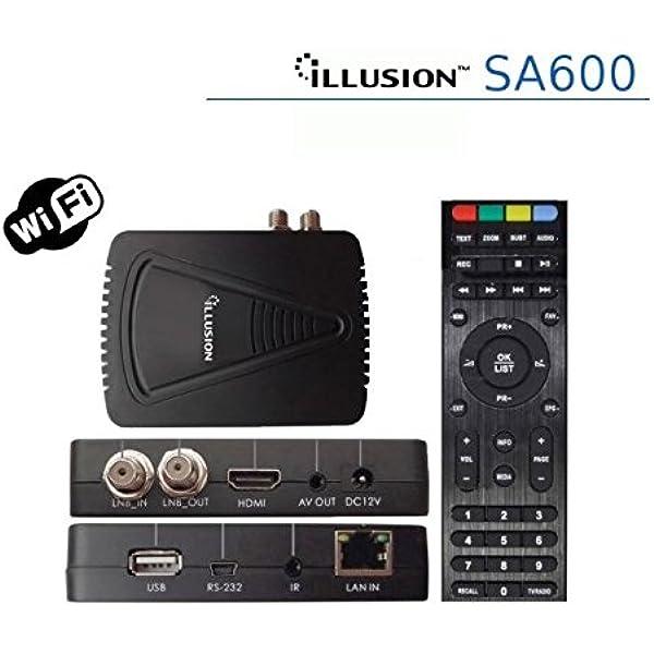 Illusion - Sa600 con conexión ethernet y WiFi, Alta ...