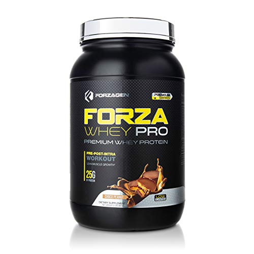 (Forzagen Protein Powder 2 Lbs - Best whey Protein Shake | Weight Gainer | Increase Muscle Mass | Meal Replacement | Low Carb Protein Powder | Pre Workout and Post Workout | Free Protein Shaker Bottle)
