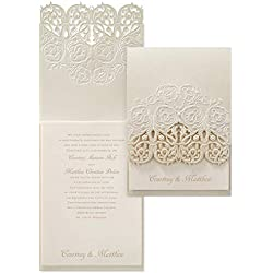 Wedding Invitations, Vision of Love - Invitation