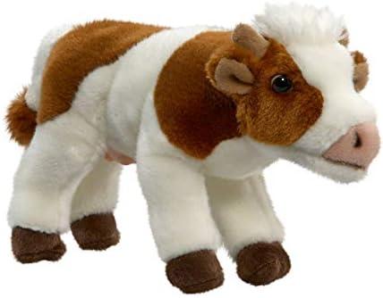 Carl Dick Peluche - Vaca, Toro de Color marrón y Blanco (Felpa, 15cm) [Juguete] 2155001: Amazon.es: Juguetes y juegos