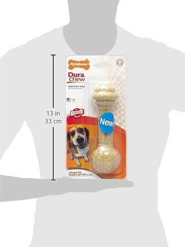 Nylabone Power Chew DuraChew Peanut Butter Large Breed Dog Chew Toy