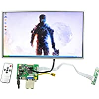 NJYTouch Raspberry Pi 15.6inch LCD Display Screen TFT Monitor with PCB800099 HDMI VGA AV Controller Board