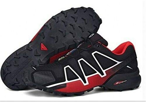 Speedcross 4 Red Trail Running Da Salomon Black Uomo Scarpe Z6dfq