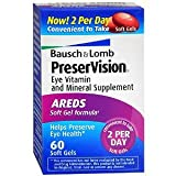 Cheap B&L Preservision Areds Sf Size 60ct Bausch & Lomb Preservision Areds Eye Vitamin And Mineral Supplement