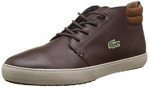 Sneaker Marrone Terra Uomo Dk Lacoste Brw Mid Ampthill z6wqZ8R