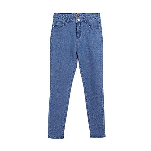 Pantaloni Personalità Posteriore Cerniera Evidenziano Jeans Curva I Ha La Corpo Di Sexy Da Donna Hzjundasi Del UgPwqzRR