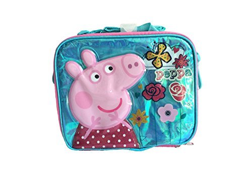 Peppa Pig Flower & Butterfly Lunch Cooler Bag