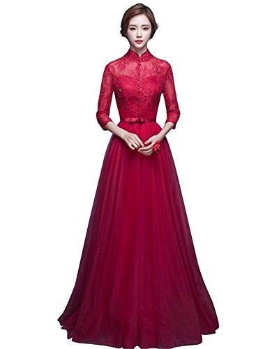 Rot Damen Damen Rot Drasawee Kleid Damen Empire Drasawee Drasawee Empire Kleid Kleid Empire zFwqETYw