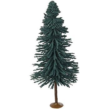 "Bachmann O Scale Train 8/"" 3 Per Box 32212 10/"" Blue Spruce Trees"