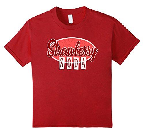 Kids SODA POP Group Costume | Strawberry Soda Costume 12 Cranberry