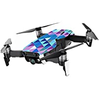 MightySkins Skin for DJI Mavic Air Drone - Purple Kaleidoscope | Min Coverage Protective, Durable, and Unique Vinyl Decal wrap cover | Easy To Apply, Remove, and Change Styles | Made in the USA