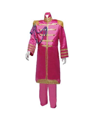 (Men's Beatles Sgt. Pepper's Pink (Ringo) Costume, XXLarge)