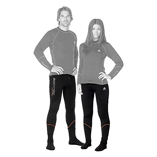 New Tusa WaterProof Unisex BodyTec Pants (X-Small) with 260 Gram Polyester Spandex for Drysuit Undergarment, Surface Wear or Sleepwear at the Base Camp