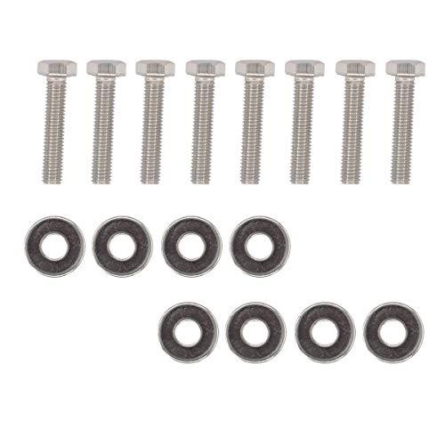 - 8 Pack Coils Stainless Steel Bolt Screws kit for Ford 4.6 & 5.4 Liter Engine